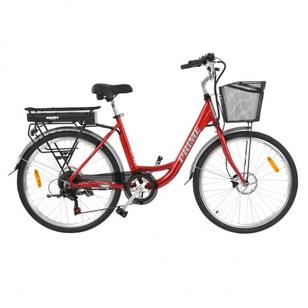 Bicicleta electrica Hecht Prime Red HECHT - 1
