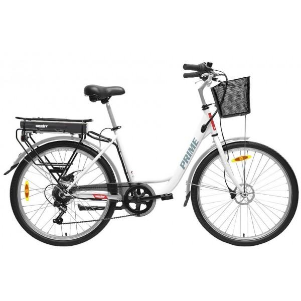 Bicicleta electrica Hecht Prime White HECHT - 1